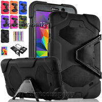 For Samsung Galaxy Tab 4 7.0/ 7-inch T230 Tablet Stand Rugged Cover Hard Case