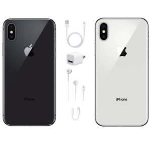 Apple iPhone X 64GB - GSM  Unlocked - USA Model - Apple Warranty - BRAND NEW!
