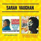 You're Mine You/The Explosive Side of Sarah Vaughan by Sarah Vaughan (CD, May-2013, Essential Jazz Classics)
