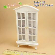 1:12 Dollhouse Miniatures Gradevin Corner china Cabinet Wine Cabinet Living Room