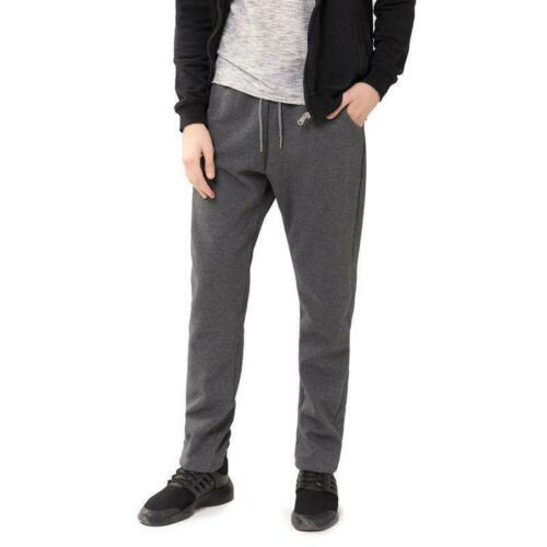 Winter Mens Thicken Sherpa Warm Fleece lined Casual Sport Pants Joggers Trousers