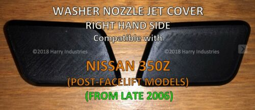 Projecteur Laveuse Buse Jet Cover RH-Fits Nissan 350Z-veuillez lire