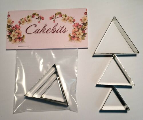Triangle Set Cake Decorating Metal