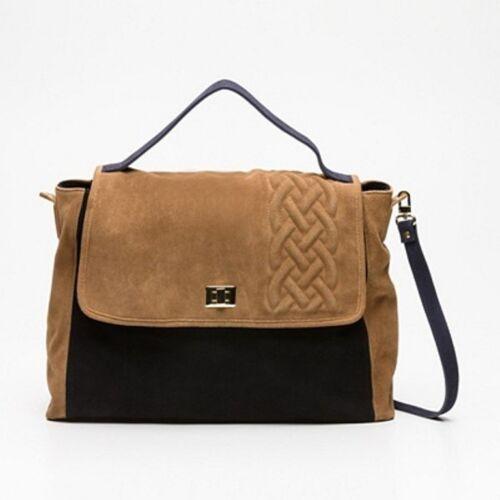 Tasche 100 Handtasche Stefanel Design Neu Veloursleder manntasche 57qUXqxtw