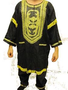 Pakistan African Clothing 2pcs Men Dashiki Church Wedding Suit