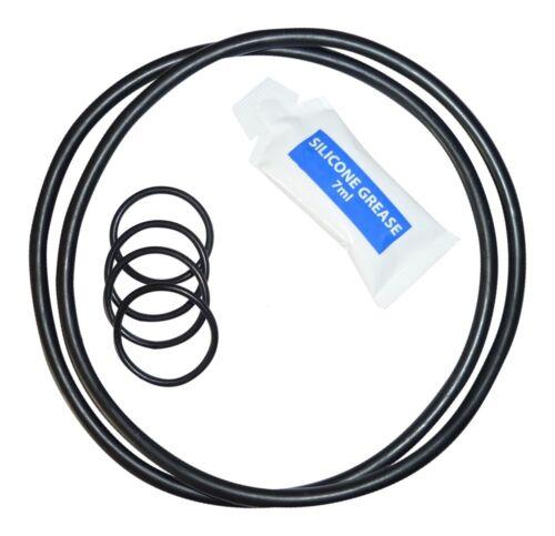 """pour /""""Super Clean/"""" Filtre Pompe Modèle AC-90575 2 sets Housse//Tuyau O-Ring Seal Kit"""