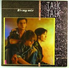 "12"" LP-Talk Talk-It 's My Mix-m721-with poster-Slavati & cleaned"