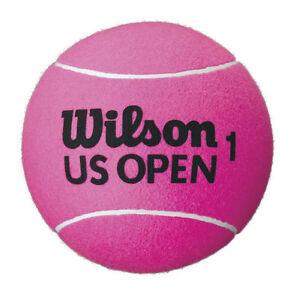 WILSON-US-OPEN-JUMBO-TENNIS-BALL-NEW-WITHOUT-BOX-DEFLATED-9-034-PINK