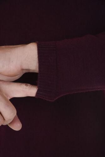 Lana Uomo 14 Maglia i Alessandrini Bordeaux Sweater A Daniele Fm91573607 YXYqf