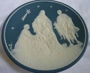 V&B Villeroy u. Boch   Weihnachtstell<wbr/>er 1978 heiligen drei Könige