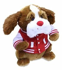 """NWT Cuddle Barn Valentine's Day Animated Plush Dog Scrappy sings """"Do you Love Me"""