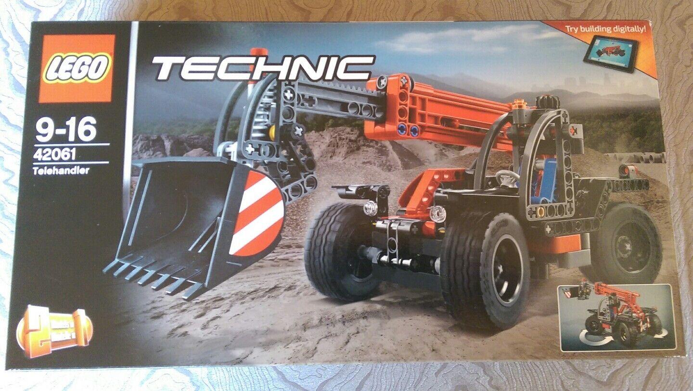LEGO TECHNIC TECHNIC TECHNIC 42061 - Le manipulateur télescopique-neuf et scellé bbaec3