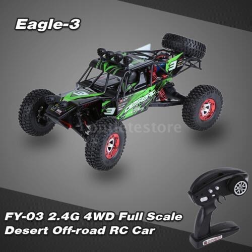 100% FEIYUE FY-03 EAGLE-3 RC Car 1/12 4WD 2.4G Full Scale Desert Off-road W9Z7