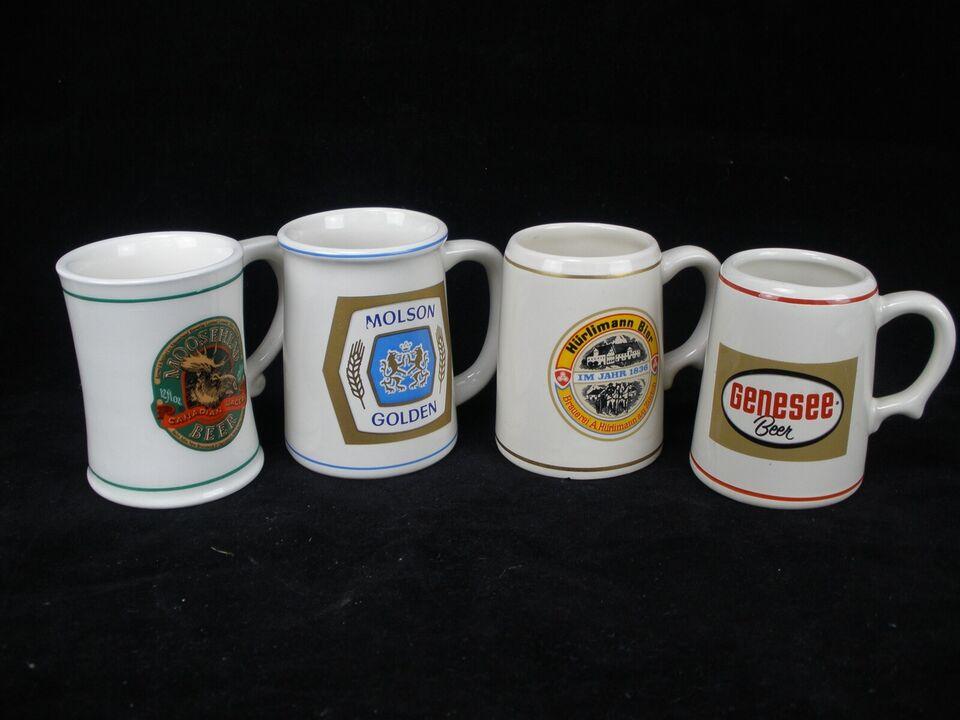 Keramik, Ti Samler Ølkrus, Franklin