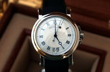 Breguet Marine Automatic Big Date 39mm Stainless 5817ST Rubber Strap-Box/Papers-