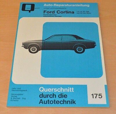 Ford Cortina 1,3 1,6 Gt Gxl 2,0 Standard Automatik Reparaturanleitung B175 Neu