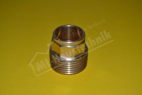 """Gunmetal Soldering Fitting 4243g Übergangs-nippel Ag 12-42 mm to 3//8-1 1//2 /"""""""