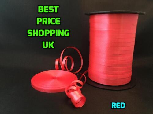 Pack de 2 Neuf 100 Mètre Ballon string cravate Curling Ruban couleur Ballon ROLL UK