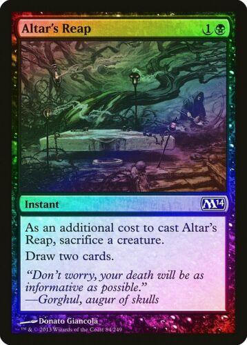 Altar Reap Foil Magic/'s 2014//M14 Preto Quase perfeito Comuns Magic The Gathering Cartão abugames