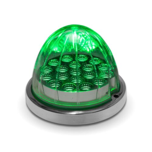 Amber//Green Watermelon Dual Color LED Light