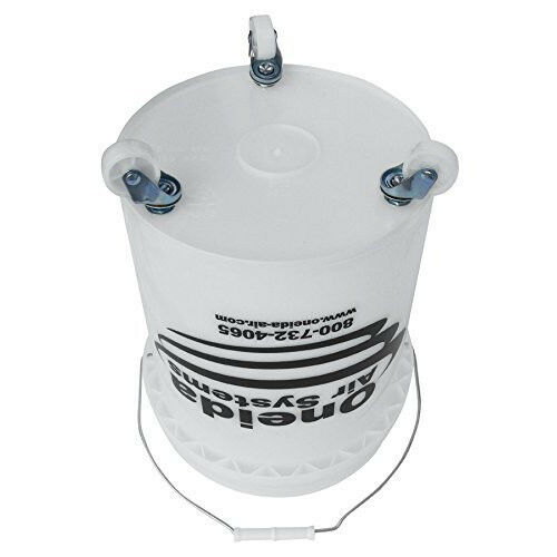 Mobile Dust Collection Storage System 5Gal Bucket Hose Work Shop Air Cleaner New