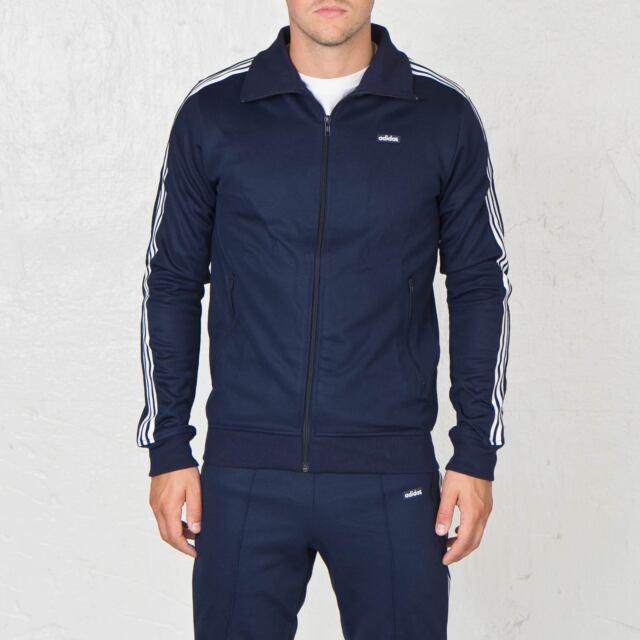 adidas Mens Navy Beckenbauer OG TT Track Jacket Ab7766 Size L for ... bfabb1e7b