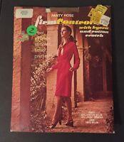 Vintage Kmart Medium Suntone Pantyhose Firm Control Lycra Top Cotton Crotch