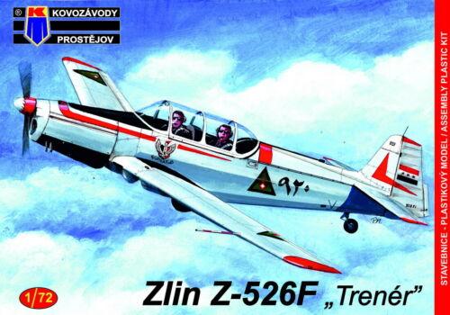 """Kovozavody Prostejov 1//72 Zlin Z-526F /""""Trener/"""" # 72155"""