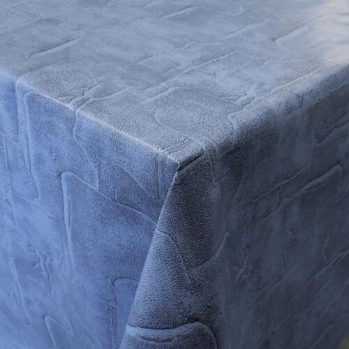 Pañuelo despierta mantel 160 cm de ancho c171072 piedras parche Denim cuadrada alrededor del óvalo