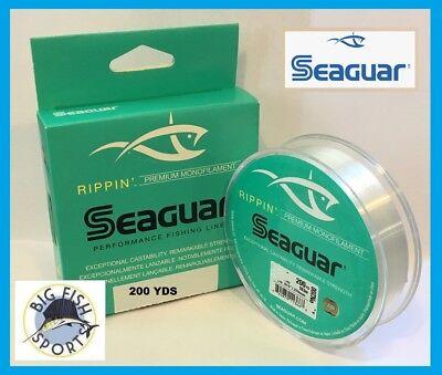 Seaguar 06RPN200 Rippin 200 yd Monofilament Fishing Line