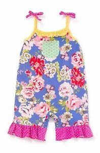 Matilda-Jane-SUMMER-ADVENTURE-Romper-Size-18-24-Months-Girl-New-In-Bag-Floral