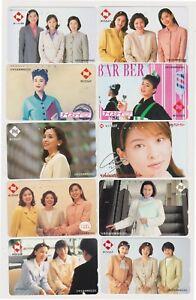 LOT de 10 TC JAPON - FEMME Femmes Pub NISSAY - GIRL WOMAN JAPAN phonecards - 7