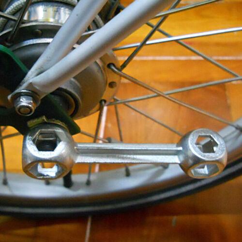 High Quality Dog Bone Pocket Hexagon Wrench Spanner Multi-Tool Bike Repair Tools
