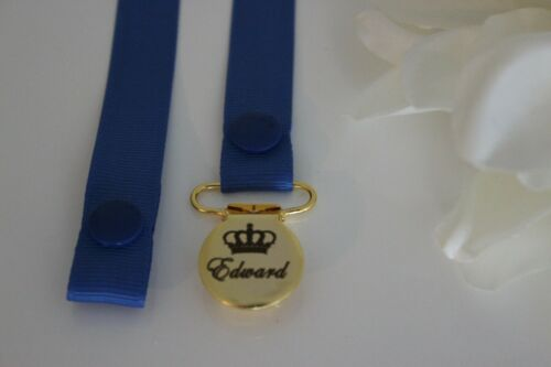Tommee Tippee,MAM MORE *ENGRAVED* Personalised Dummy Clip ~Suitable for Avent