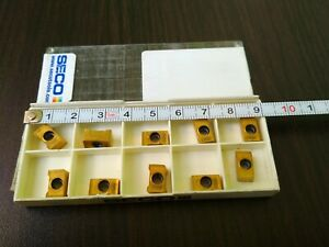 SECO-LNKT-050404PPTN4-M06-F40M-10-PCS-CARBIDE-INSERTS-FREE-SHIPPING