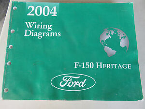 2004 FORD F150 HERITAGE TRUCK WIRING DIAGRAMS | eBay