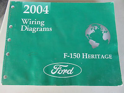 2004 Ford F150 Heritage Truck Wiring Diagrams Ebay