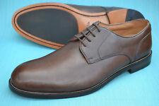 f400f572e7ee4 Clarks Mens Formal Shoes COLING WALK DERBY Walnut Leather UK 10 H Wide Fit