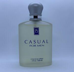 PS PAUL SEBASTIAN CASUAL COLOGNE SPRAY FOR MEN 100 ML 3.4 OZ