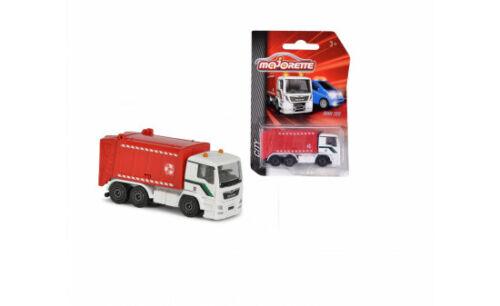 #212057500Q02 Majorette City MAN TGS Müllwagen