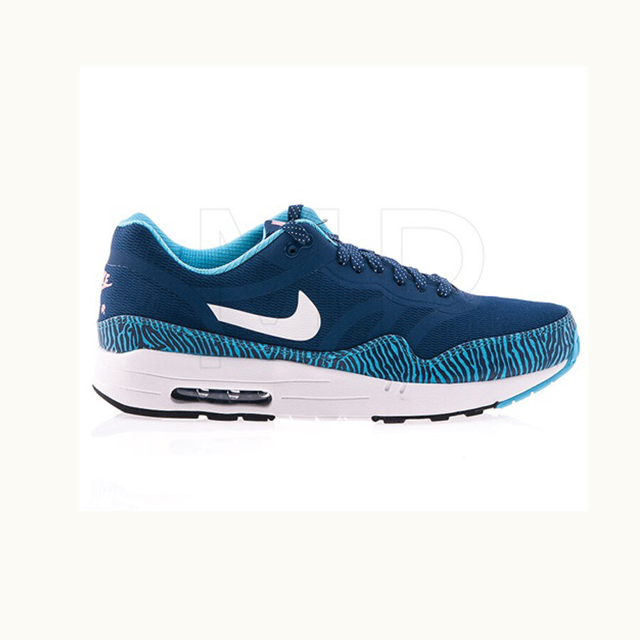 Original Mens Nike Air Max 1 Premium Tape Trainers bluee Reflective 599514410
