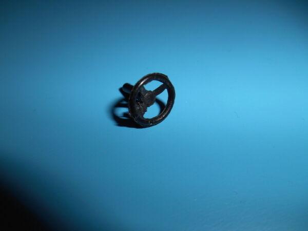 (b9) Dinky Toys Volanti Nera Plastica 3 Rami Diametro 10mm Materiali Accuratamente Selezionati