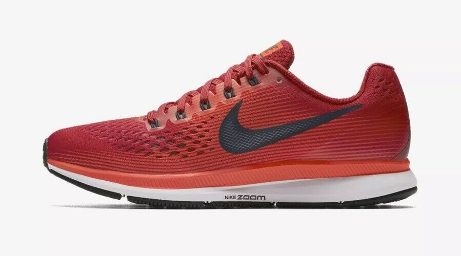 finest selection 5cad5 06b33 $110 $110 $110 Nike Air Zoom Pegasus 34 Men's Size 13 Gym Red/Armory Navy