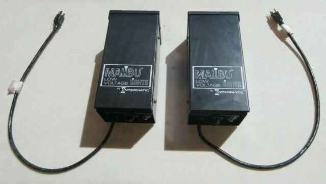 Intermatic Malibu Low Voltage Lights Transformer With Timer Ml300tw