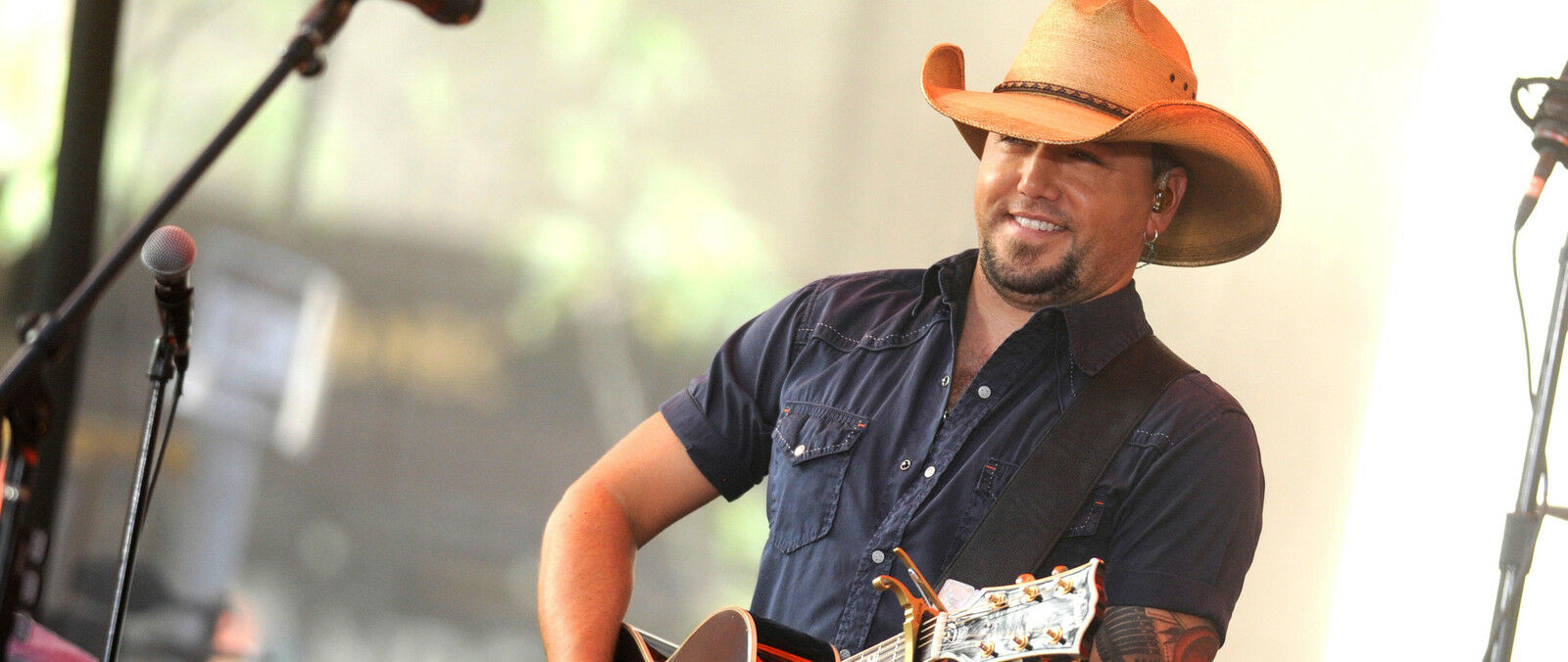 Jason Aldean with Chris Young, Kane Brown and Dee Jay Silver