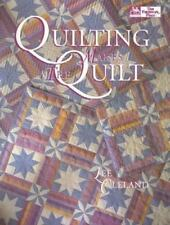 Quilting Makes the Quilt by Lee Cleland (1994, Hardcover)