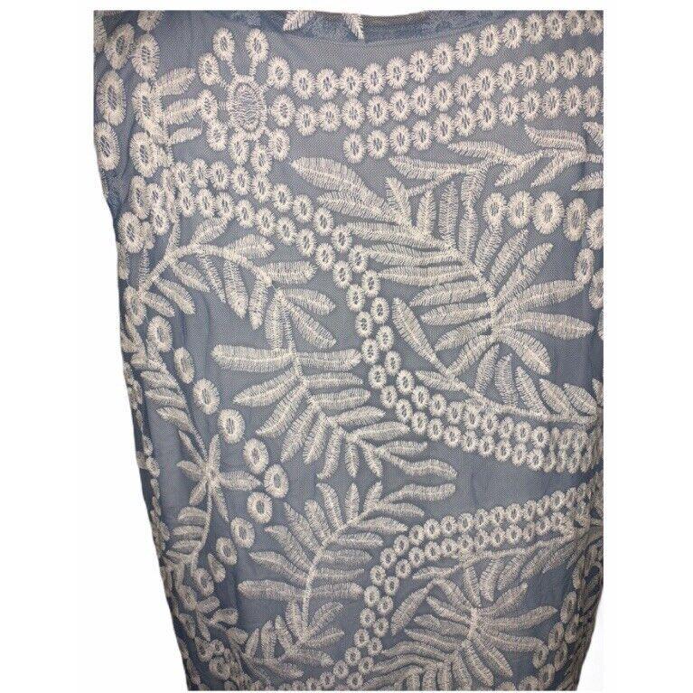 Naeem Khan Timeless Sleeveless Embroidered  Shift… - image 9