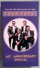 four tops 40TH ANNIVERSARY SPECIAL   VHS VIDEOTAPE