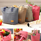 Waterproof Insulated Thermal Cooler Lunch Box Picnic Carry Tote Storage Bag New