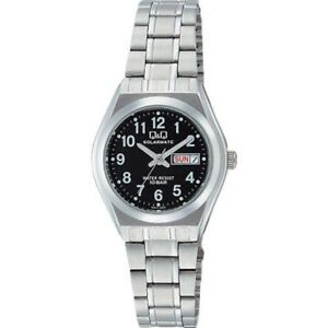 CITIZEN-H011-205-Q-amp-Q-Womens-Watch-SOLARMATE-10ATM-Black-From-Japan-with-Tracking